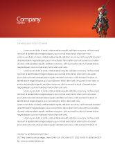 Education & Training: Knight Letterhead Template #03285
