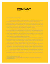 Business Concepts: Rede Letterhead Template #03290