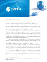 Global: Computerized World Letterhead Template #03291