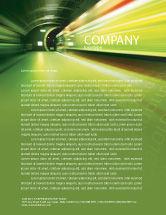 Technology, Science & Computers: Aansluitingen Briefpapier Template #03295