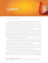 Careers/Industry: Career Jump Letterhead Template #03296