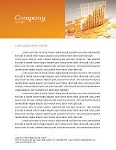 Financial/Accounting: Treasure Diagram Letterhead Template #03350