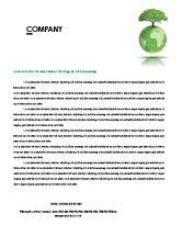 Nature & Environment: Yggdrasill Letterhead Template #03382