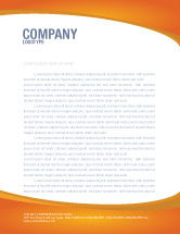 Technology, Science & Computers: Web Letterhead Template #03493