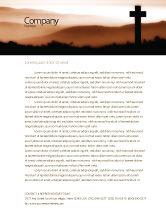 Religious/Spiritual: Memento Mori Letterhead Template #03510
