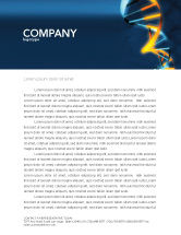 Medical: Genes In DNA Letterhead Template #03516