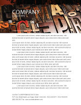 Careers/Industry: Schriften Briefkopf Vorlage #03520