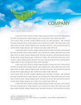 Global: Mother Earth Letterhead Template #03522