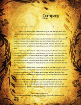 Abstract/Textures: Fairy Tale Letterhead Template #03523