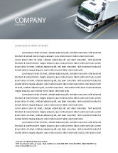 Cars/Transportation: Freight Service Letterhead Template #03527