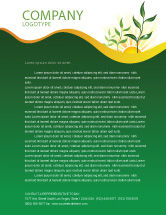 Nature & Environment: Growing Letterhead Template #03531