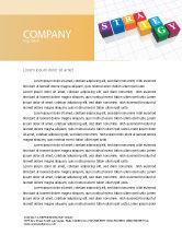 Business Concepts: Templat Kop Surat Strategi #03563
