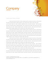 Abstract/Textures: Autumn Theme Letterhead Template #03593