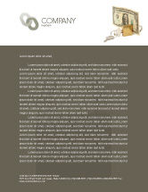 Financial/Accounting: Money Savings Letterhead Template #03616