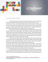 Education & Training: Job Benefits Letterhead Template #03621