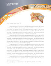 Medical: Auricle Letterhead Template #03631