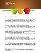 Business Concepts: Reaching the Aim Letterhead Template #03639