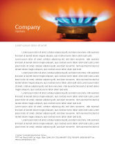 Careers/Industry: Gas Stove Letterhead Template #03675