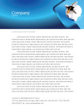 Financial/Accounting: Education Costs Letterhead Template #03703