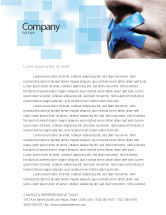 Consulting: Silence Letterhead Template #03710
