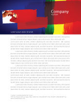 Art & Entertainment: Various Colors Of Paint Letterhead Template #03714