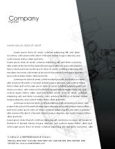 Construction: Construction Sketch Letterhead Template #03740