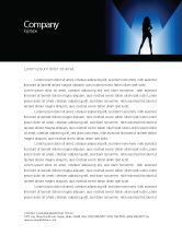 Art & Entertainment: Fashion Show Letterhead Template #03788