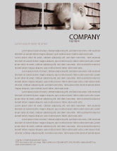 Consulting: Orphanage Letterhead Template #03798