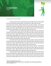 Nature & Environment: Eco-World Letterhead Template #03820
