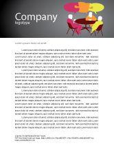 Business: Dialogue Letterhead Template #03826