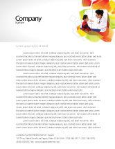 Medical: Paediatrist Letterhead Template #03835