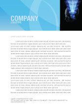 Technology, Science & Computers: Digital Memory Letterhead Template #03844