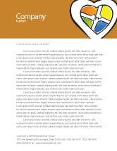 Education & Training: Hands Of Unity Letterhead Template #03846