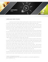 Business Concepts: Brilliant Idea Letterhead Template #03860