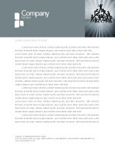 Business Concepts: Team Victory Letterhead Template #03885