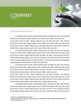 Nature & Environment: New Sprout Letterhead Template #03899
