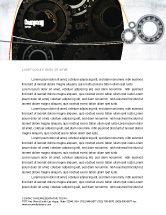 Utilities/Industrial: Bearing Letterhead Template #03917