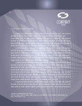 Technology, Science & Computers: Centralization Letterhead Template #03933