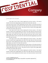 Careers/Industry: Private Letterhead Template #03935