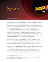 Consulting: Information Bureau Letterhead Template #03942