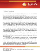 Flags/International: Flag of Spain Letterhead Template #03943