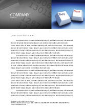 Business Concepts: eCommerce Letterhead Template #03949