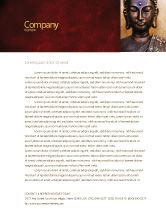 Religious/Spiritual: Buddha In Meditation Letterhead Template #03973