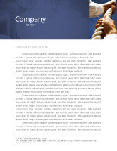 Business Concepts: Climbing Up Letterhead Template #03977