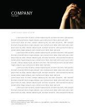 Religious/Spiritual: Emotional Support Letterhead Template #04007