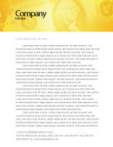 Financial/Accounting: Dollar In Yellow Letterhead Template #04022