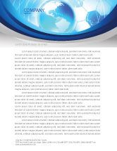 Global: Communication Media Letterhead Template #04028