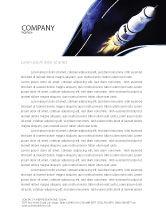 Technology, Science & Computers: Templat Kop Surat Kapal Ruang #04051