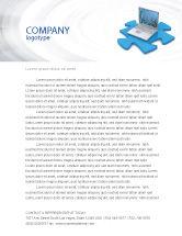 Technology, Science & Computers: Templat Kop Surat Data Laptop #04108