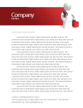 Utilities/Industrial: Technical Support Letterhead Template #04135